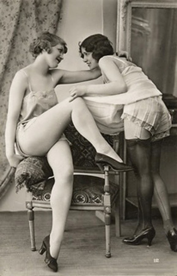 For lovely French post cards spank congratulate