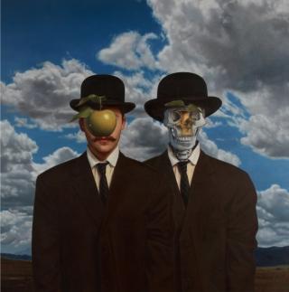 digital-art-c2a6-adaptation-of-rene-magrittes-son-of-man-by-ron-english-popaganda