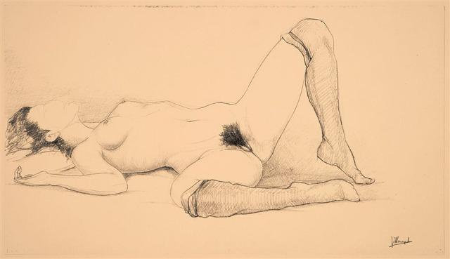 jules-de-bruycker-naakt-dessins-drawings-111