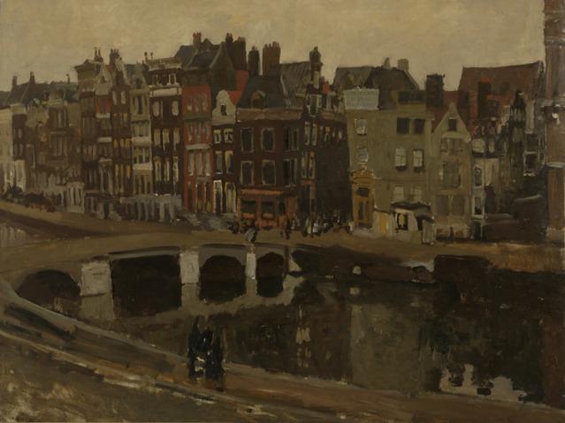 George_Hendrik_Breitner_-_Het_Rokin_te_Amsterdam