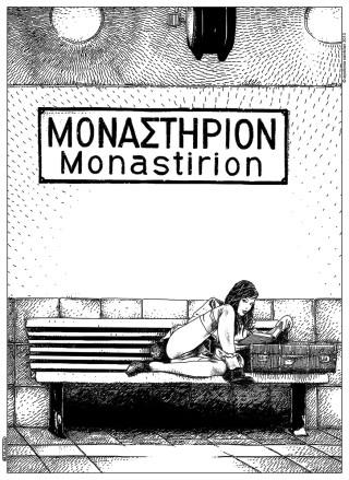 Apollonia-Saintclair-L'escale-à-Monastirion-Stopover-in-Monastirion